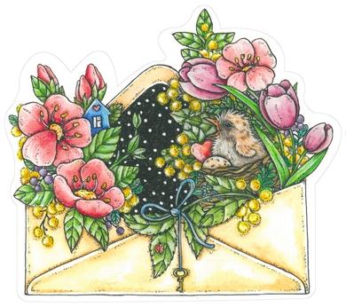 Spring in envelope