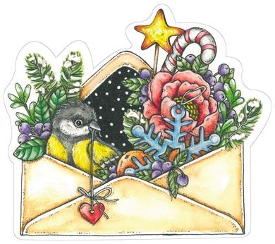 Winter in envelope