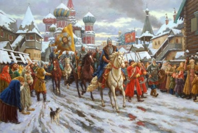 Militia of D. Pozharsky