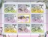 «Bicycle» set (postcard + postage stamp)