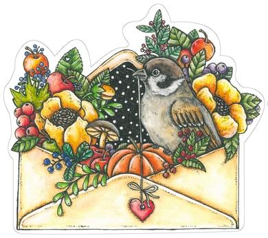 Autumn in envelope