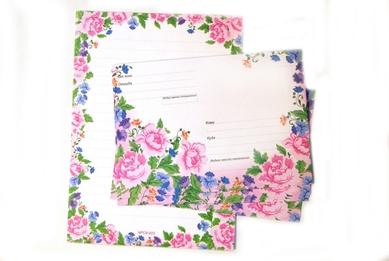 Набор для письма «Весенние цветы»