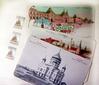 Комплект «Москва. Виды прошлого столетия» (открытки+марки)