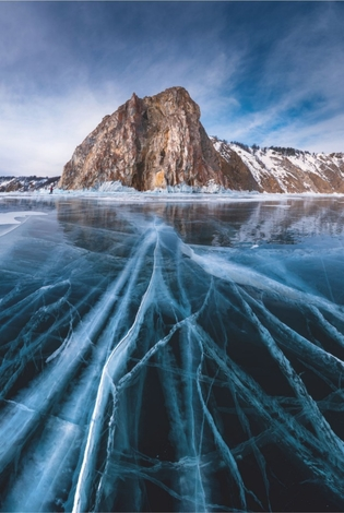 Thin strings of Baikal