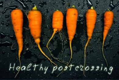 Healthy postcrossing