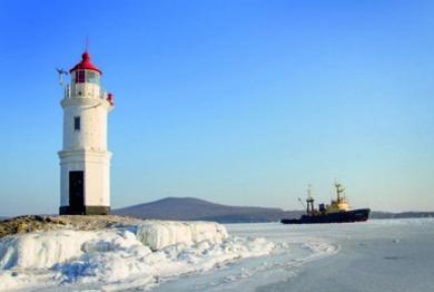 Tokarevskiy lighthouse. Vladivostok