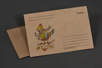 Craft-paper envelope «Forty»