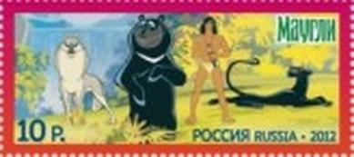 Герои отечественных мультфильмов. Маугли