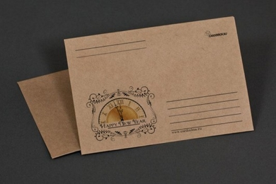 Craft-paper envelope «Happy new Year»