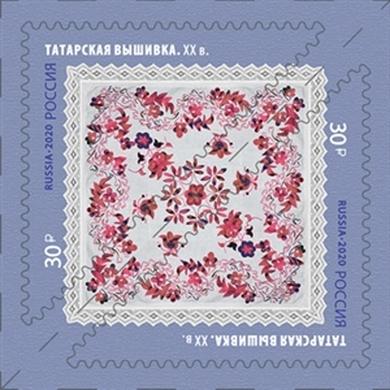 Декоративно-прикладное искусство России. Татарская вышивка