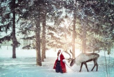Gerda and Reindeer