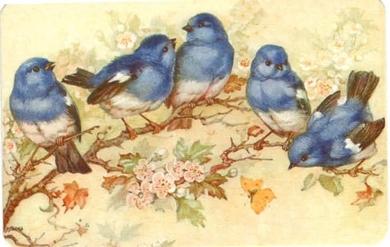 Птички на веточке