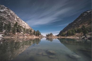 Lake Kuyguk. Altai Mountains. Russia