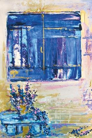 Lavender window