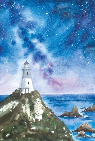Night lighthouse