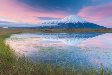 Colorful Tolbachik. Kamchatka, Russia